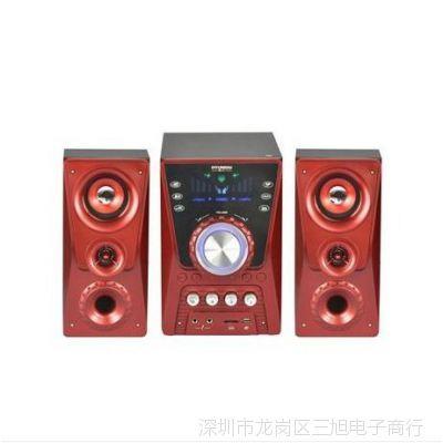 韩国现代HY-635 多媒体音箱 插卡音箱 U盘音响 卡拉OK 家庭音响