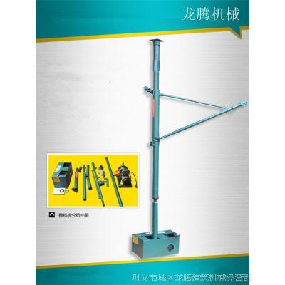装修上料用便携式小吊机 小型吊机 家用小吊机 上水石 装修机械
