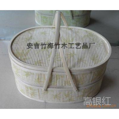 厂家直销竹篮 月饼包装篮 礼品包装篮 水果包装篮