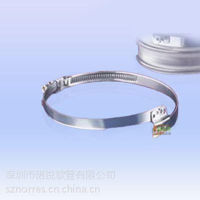 交叉式卡箍 、加强紧固件,不锈钢紧固件 WH0025 结构简单,密封好,箍紧力强