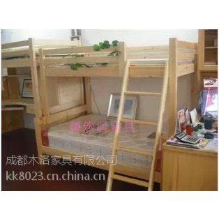 崇州学生宿舍床,松木原材 经久耐用
