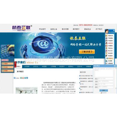 供应杭泰互联针对企业定制网络营销方案