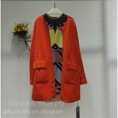 杭州时尚品牌璞秀秋冬款库存女装低折扣一手货源