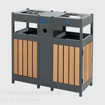 广州匠能供应室内不锈钢垃圾桶