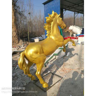 玻璃钢动物雕塑厂家直销,可来图定制