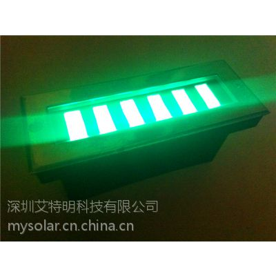 供应不锈钢太阳能地埋灯智能光控开关免电费