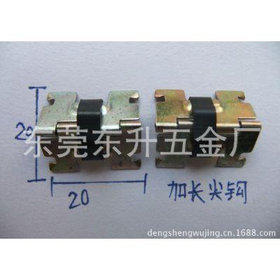 供应供应礼品包装盒上圆柱合页胶盒扣9.0细铰眼镜盒铰链纸盒铰牛角锁勾