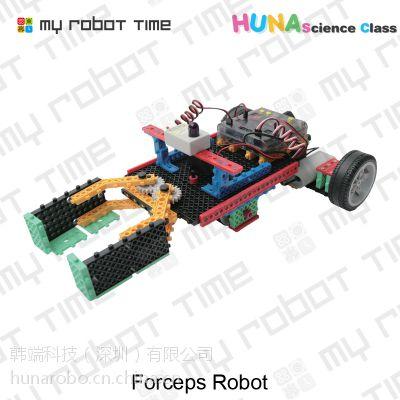韩端教育机器人CLASS2、ABS材质儿童积木玩具、儿童益智积木教具