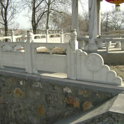 景区石栏杆 青石浮雕栏杆 石头装饰护栏