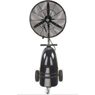 供应落地式高压加湿降温工业喷雾风扇