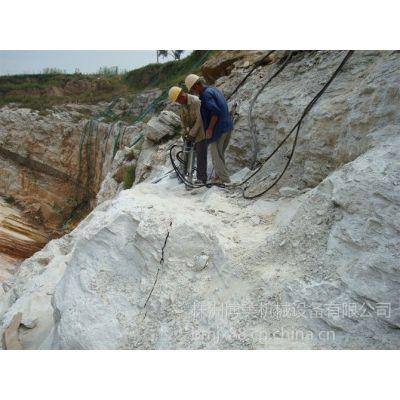 供应露天矿石岩石分裂用什么设备-博美岩石劈裂机