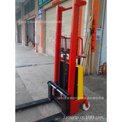 深圳供应半电动堆高车/台湾生力半电动堆垛车/半电动叉车堆高机