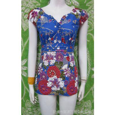 泰国服装批发 绣珠吊带批发 泰国吊带 民族风 手工串珠服饰171