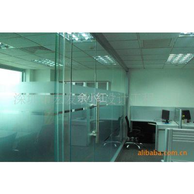 供应承接深圳   办公室玻璃  石膏板隔断 装修 隔断