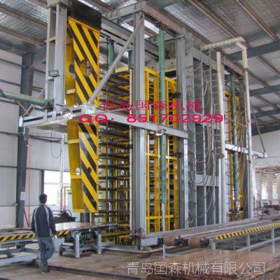 供应青岛国森专利重组竹/重组木设备冷压机与热压机