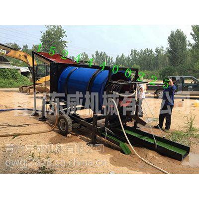浙江新型选金设备淘金车装载机上料100方处理量销售价格