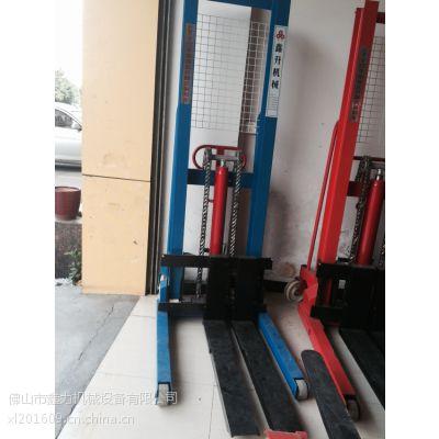高明手动液压堆高车 手动液压堆高车可以升多高