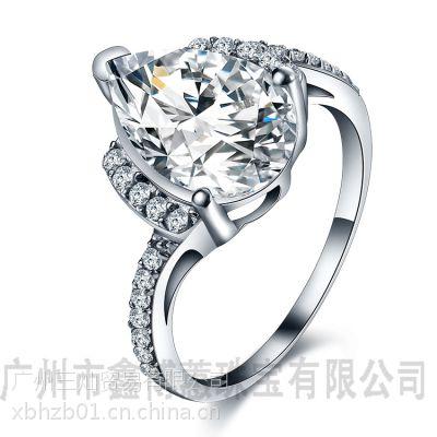 鑫博蕙清华毕业戒指定做925纯银首饰批发创意戒指
