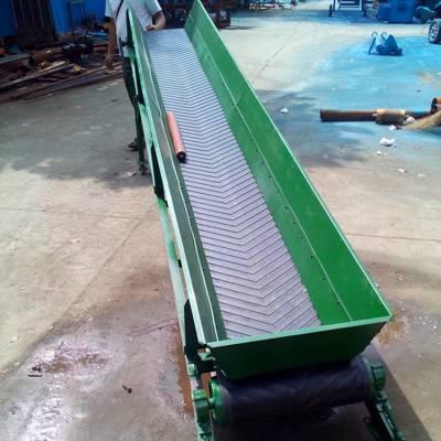 新型皮带输送机 沙石料爬坡输送机 多功能装卸设备