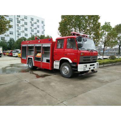 国五排放的东风153型6吨水罐消防车批量销售了
