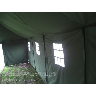 八一班用双门帐篷军用帐篷施工帐篷成都帐篷厂