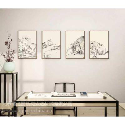 博拉图 酒店装饰画 公司企业软装挂饰 家居室内艺术油画墙壁画国画字画