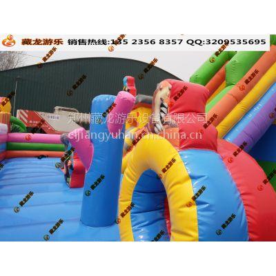室外做的生意就选气垫床 儿童室外充气玩具都有什么新款 汽包蹦蹦床滑梯