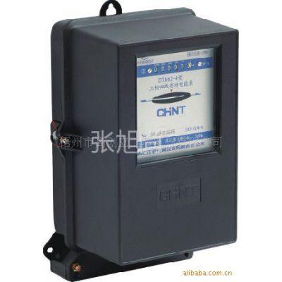 供应CHNT正泰集团电能表/电度表DT862-4 220/380V 10(40)A 2级