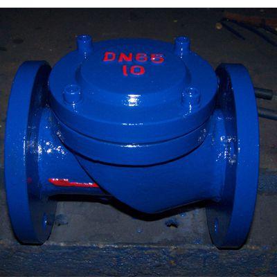 HC44X-10/16/25C 铸钢 DN600 hc44x橡胶瓣止回阀16和hc44x