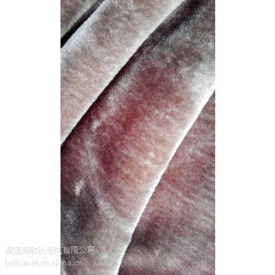 厂家生产外贸低价超柔里布割圈绒长毛绒500g㎡面料