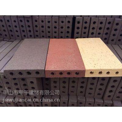 厂家优质人行道砖,广场砖和拉毛烧结砖以及透水烧结砖供应
