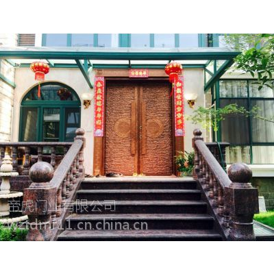 一樘完美的别墅门,必有其独特的韵味