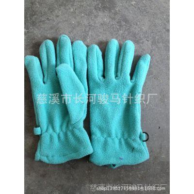 男女防风抓绒手套 冬季御寒保暖手套 摩托车手套 摇粒绒手套