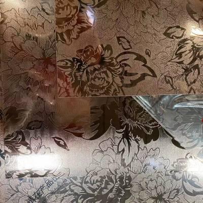 北海诚德304不锈钢拉丝玫瑰金无指纹板材