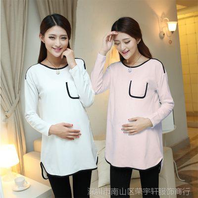 2014已出货新款 孕妇装 孕妇 连衣裙  韩版 秋冬款连衣裙