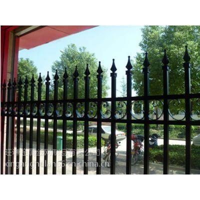 河北安平锌钢栏杆生产加工 护栏供应销售 栏杆制作