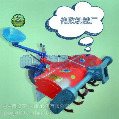 单杠柴油机旋耕机操作维修方便 专业设计制造微耕机用途广? 手扶旋耕机带犁子可靠性好