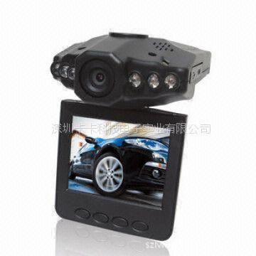 供应H198 汽车行驶行车记录仪 6灯红外夜视高清车载摄像机DVR(图)