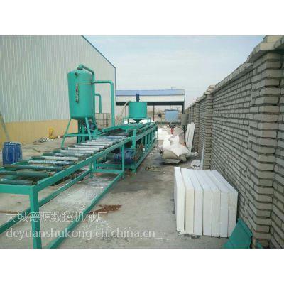 优质A级硅质聚苯板生产线 水泥发泡保温板切割锯成套设