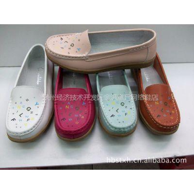 厂价批发供应赛欧诗兰 新款 印 花 时尚 单鞋 真皮 休闲鞋