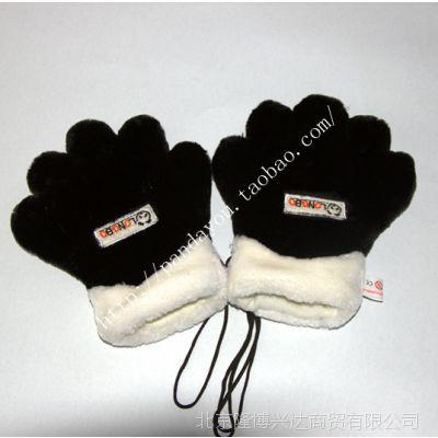 2014冬季可爱手套 大熊猫手套 LONGBO五爪熊掌手套 保暖卡通手套