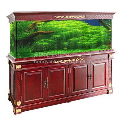供应水族箱-高档-皇家-欧式-实木-鱼缸-老榆木-厂家直销-定制-欧式裂纹漆