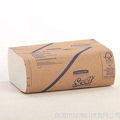现货供应 金佰利 折叠式绿色环保擦手纸 250张/包 吸水量大37490