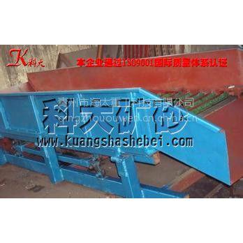 青海地区使用固定溜槽选金机械 选金溜槽淘金机