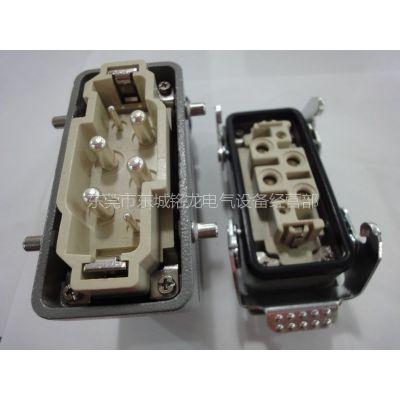 供应西霸士重载连接器  XBS-HDC-HK4/2-006-1  重载航空插