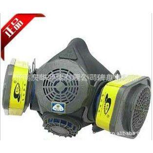 济南供应思创/橡胶双罐防毒面具/ST-M60X-3