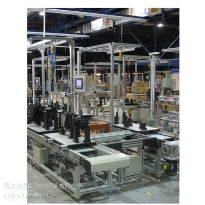 供应座椅滑轨装配生产线/汽车零部件装配输送线/非标自动化生产线