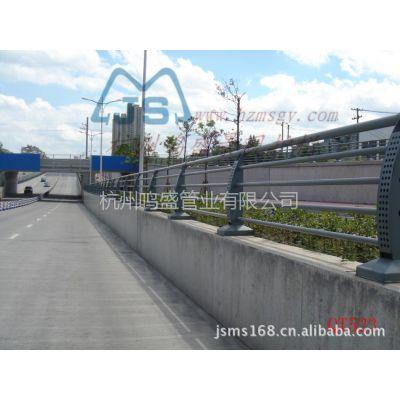 供应热镀锌喷塑景观桥梁护栏(栏杆)