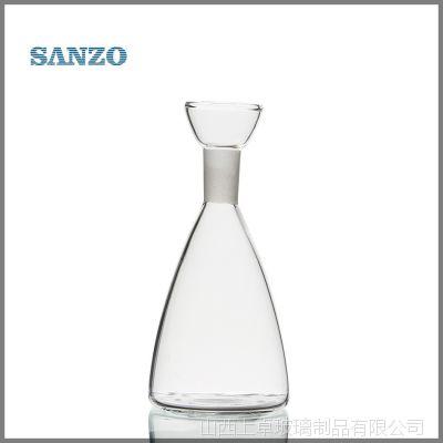 厂家定制玻璃油瓶批发 手工制作高档调料瓶 储物瓶供应 BG15020