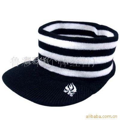 供应针织帽,帽子。帽,围巾,手套(图)空顶帽
